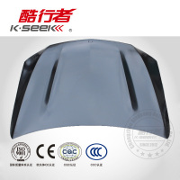 Car Front Engine Hood Cover Fits For W205 C63 AMG