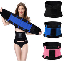<span class=keywords><strong>Taille</strong></span> <span class=keywords><strong>Trainer</strong></span> <span class=keywords><strong>Riem</strong></span> Body Shaper Buik Wrap Trimmer Slanker Compressie Band voor Gewichtsverlies Workout Fitness