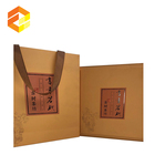 Exquisite workmanship paper luxury cardboard flat window pack gift box