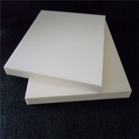 Ivory polishing high purity 99% alumina ceramic plate for measurement