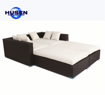 Whole Outdoor Rattan Sofa Bed