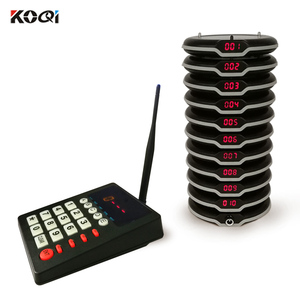 Ycall Quality Controlled Wireless Service Coaster Pager System Wireless Restaurant Call Paging System For Restaurant