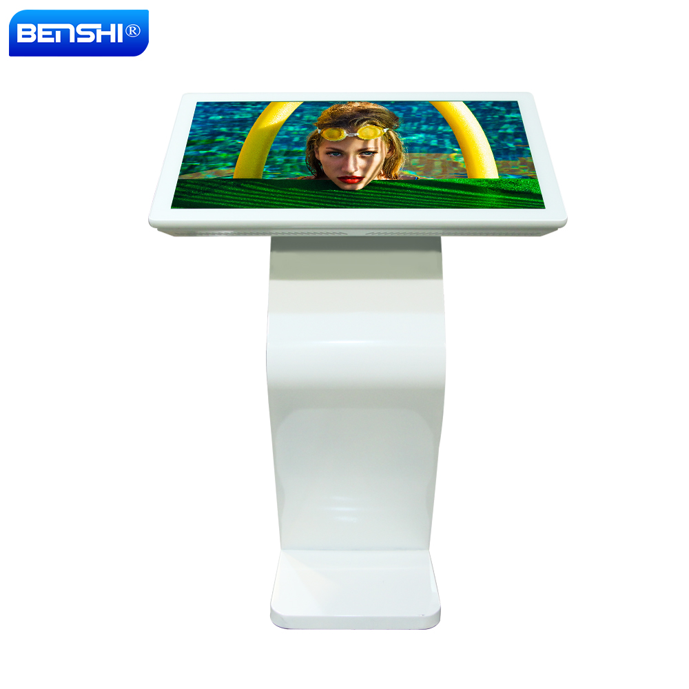Free Standing Signage Digital Lcd Sign Monitor Video