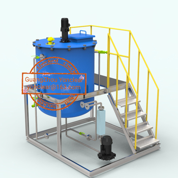 Automatic dosing machine for wastewater treatment and disinfection