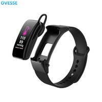 2019 hot selling Talk Band Headset Fitness Tracking Sports Smart Bracelet