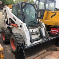 SECOND HAND/USED SKID STEER WHEEL LOADER BOBCAT S300 FOR SALE WITH LOW PRICE AND HIGH QUALITY (NEGOTIABLE)