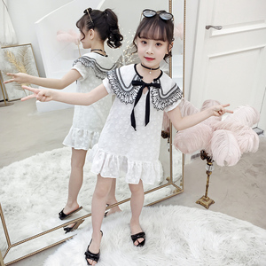 summer new party princess girls dresses