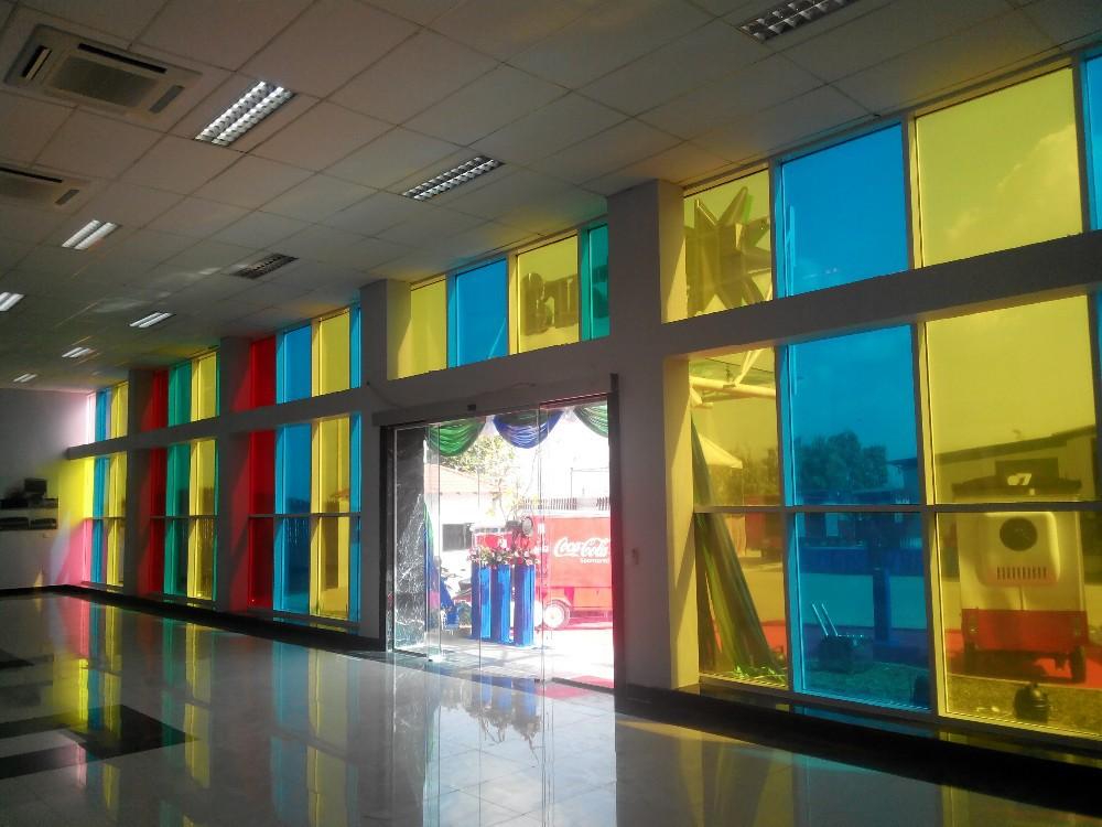 Transparent Double Glass Colorful Solar Panel Bipv Buy