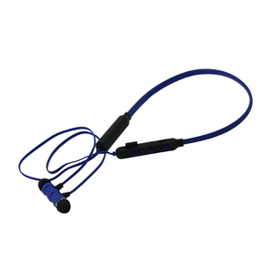 stereo wireless neck band noise reduction waterproof sport bluetooth headset