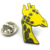 Kunshan Custom Made Metal Enamel Animal Lapel Pin
