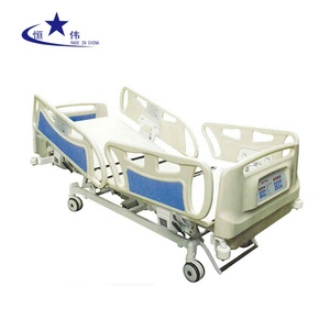 Electric luxury five functions patient bed for hospital multifunctional bed