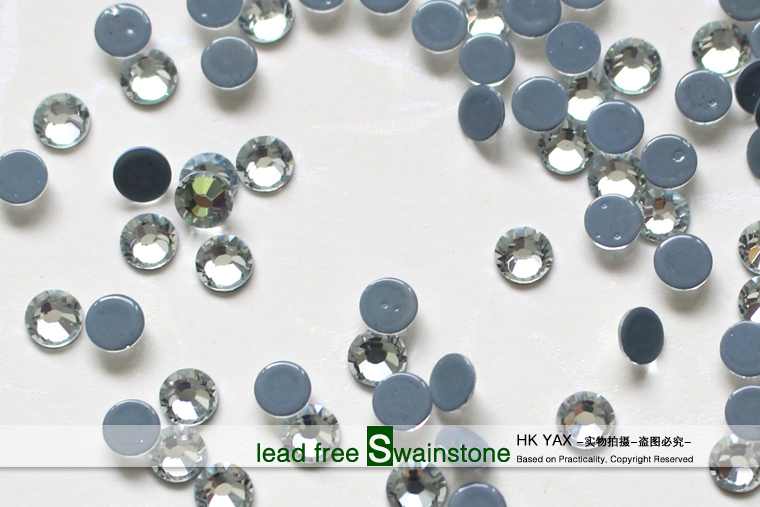 Y0831 Blue zircon China quality hot sale lead free crystal SS10 3MM SS16 4MM SS20 5MM,iron-on lead free rhinestones