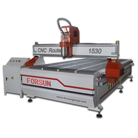 Best Price Wood Door Making Machine CNC Router Machine 1224 with Air Cooled Spindle , Stepper Motor