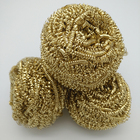 Factory direct sale Pure copper pot cleaning wire brass scourer