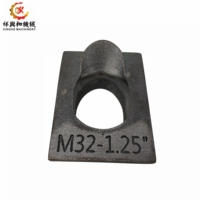 China oem carbon steel stainless cast monoblock steel casting spare part