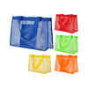 Mesh Beach tote toiletry bag large travel shower bag clear makeup transparent mesh bags grocery picnic tote