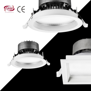 3w 5w 7w 9w 10w 12w 18w 20w 30w 40w Led Down Light, 4 5 6 Inch Dimmable Recessed Cob Led Downlight