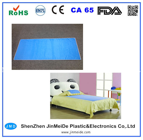 kids gel cooling bed pad ice cooling gel mattress pad for child