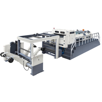 Roll Cardboard To Sheet Cutting Machine