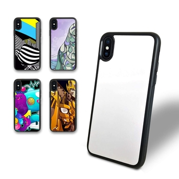 Tpu Pc 2D Blank Sublimation Printing Cell Mobile Phone Case Back Cover For Iphone X Xs Max Xr