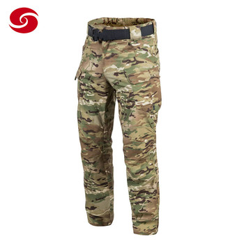 Long Sweat Tactical Cargo Track Man Pants