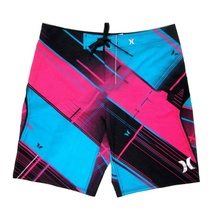 2019 fashion adult mens surf 4 way stretch <span class=keywords><strong>stof</strong></span> boardshorts stretch custom