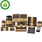 14 pcs High-end hotel room leather amenities leather accessories set