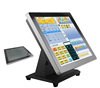Cheap price all in one pc touch screen POS with card reader/cash drawer/printer