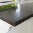 China factory honed bluestone kitchen top beveled edge