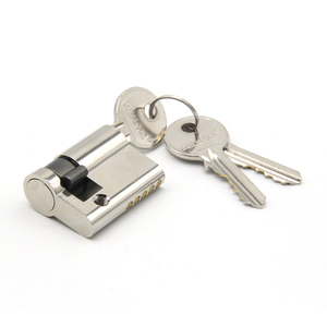 High quality one side key guard security push barrel door lock cylinder