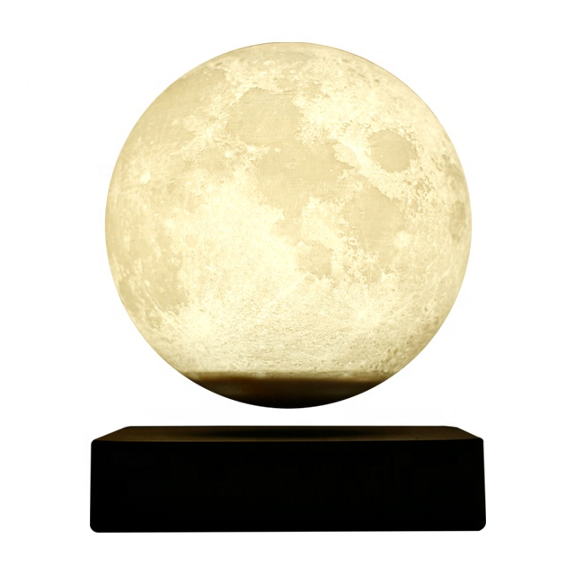 New Modern Bedroom Smart Read Night Moon Magnetic floating table lamp