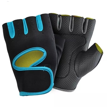 Unisex Fashion Exercise Workout Weight Lifting Sport Fitness Gloves for Gym Training