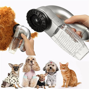 Portable Electric Pet Hair Clippers Vacuum Best Pet Grooming Handheld Vacuum Dog Cat Hair Cleaner Cordless Cleaning