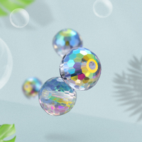 Xichuan Crystal K9 Glass Disco Ball Loose Beads for Fashion Accessories