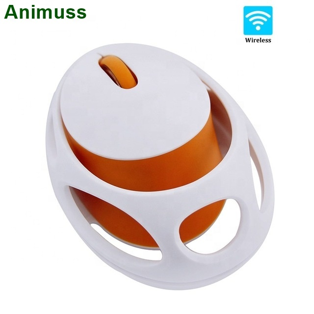 2019 New Button Mute Wireless Charging Egg Cartoon Mouse 1600DPI USB Interface 2.4GHZ Wireless Transmission Frequency Mouse