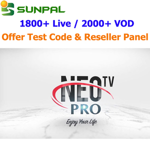 hot sale Stable Quality NEOTV PRO Arabic French European Africa neotv iptv  Reseller Panel android tv box m3u smart tv iptv