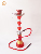 Crystal Metal Stem Hookah Shisha Beautiful Good Quality Glass Bottle narguile