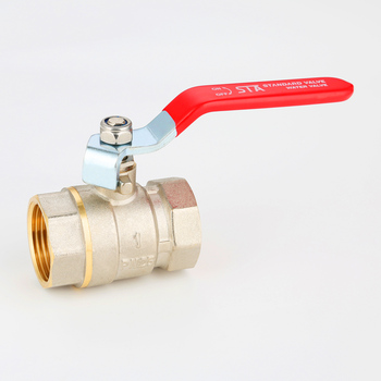 STA.1005 new products 2 inch ball valves for water cw617n BSP threaded brass forged brass ball valve price list china