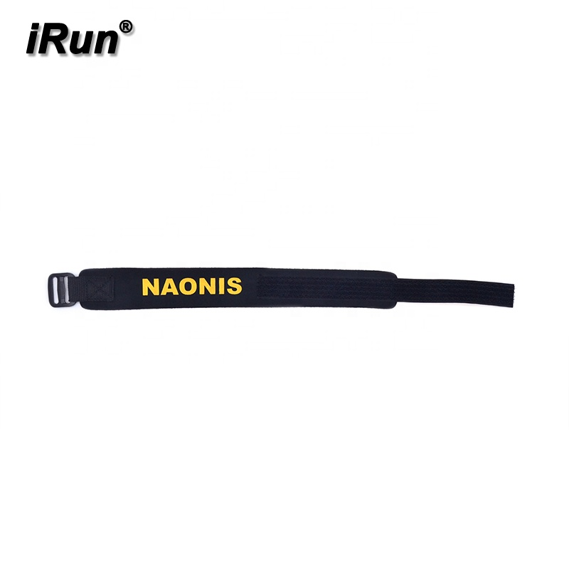 IRun Personalizado Neoprene Triathlon Chip de Cronometragem Cinta do Tornozelo do Neopreno Chip de Cronometragem Cinta Com Gancho Loop