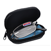 2019 New convenient folding reading glasses glass metal frame cover waist zipper bag crystal reading glasses