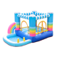 Nylon Customizable Dora Bounce House Material Adult Jumpers Bouncer Inflatable Fabric Pvc Rainbow Water Slide