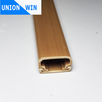 PVC cable trunking wiring duct high quality plastic cable trunk fire retardent electrical PVC duct trunking