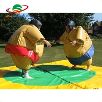 High Quality Inflatable Sport Games Sumo Wrestling Suits For Kids and Adults