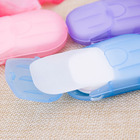Hot sell travel supplies portable disposable soap paper mini paper soap