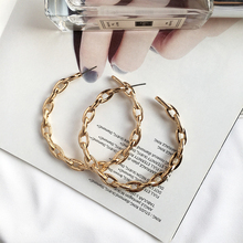 2019 fashion Personalized original design European and American trend earrings hoop earring