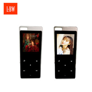 Fashionable 64G TF Card Expansion Support Recording Touch Screen Hifi MP3 Player