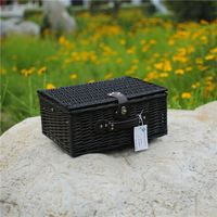 Promotional Hamper Picnic Folding Basket With Customized Size
