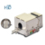 Best Price High Quality Cat5e Punch Down Network Cat 5e Amp Keystone Jack 90 Degree FTP Shielded Modular OEM Factory