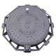 cast iron manhole cover en124 b125 with locking