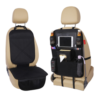 Hot new products luxurious PU leather car back seat storage bag organizer car seats with best service and low price